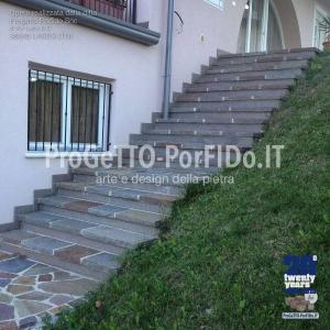 gradini di porfido trentino prima scelta