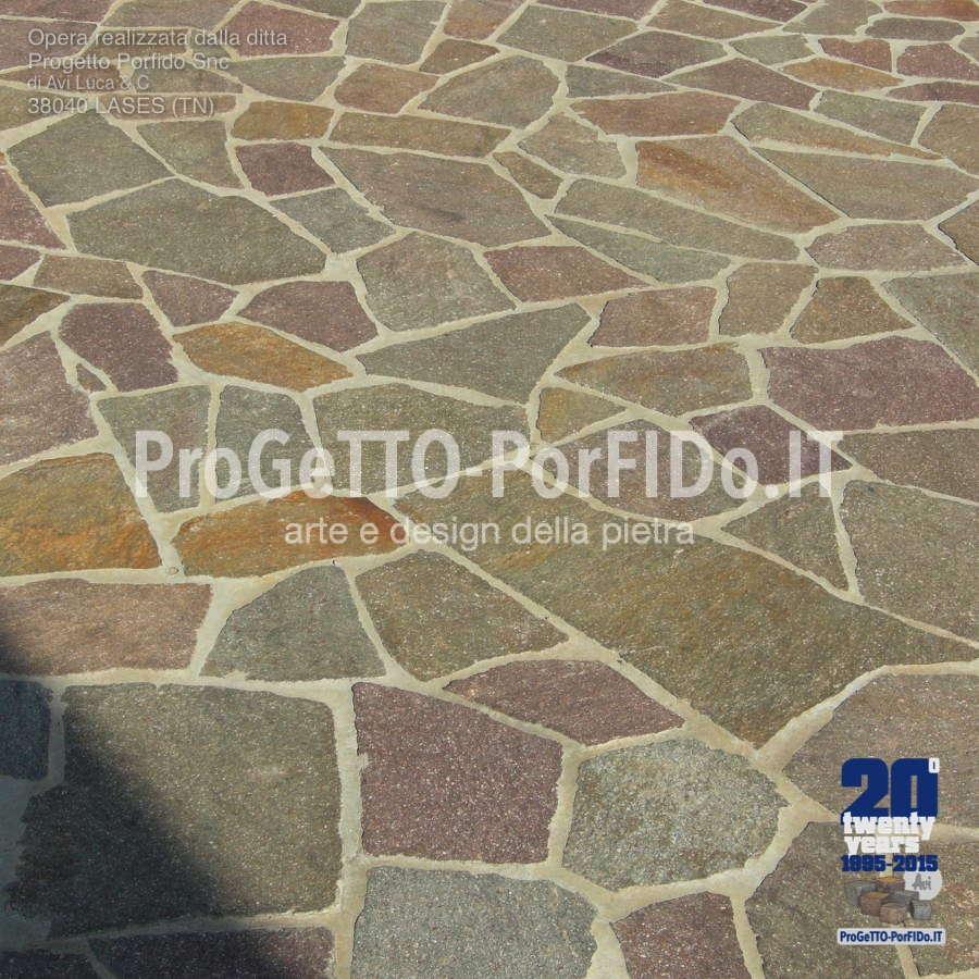 mosaico #opera incerta porfido