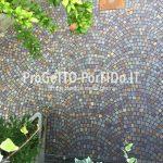 Come posare il porfido per stuccatura con resina poliuretanica