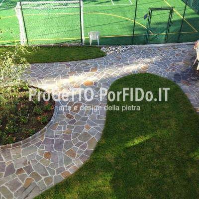 mosaico #porfido hotel scoiattolo