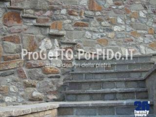 muro sassi grezzi varie misure