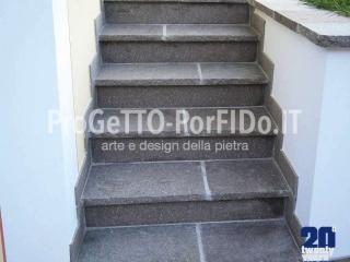 scalinate di porfido trentino