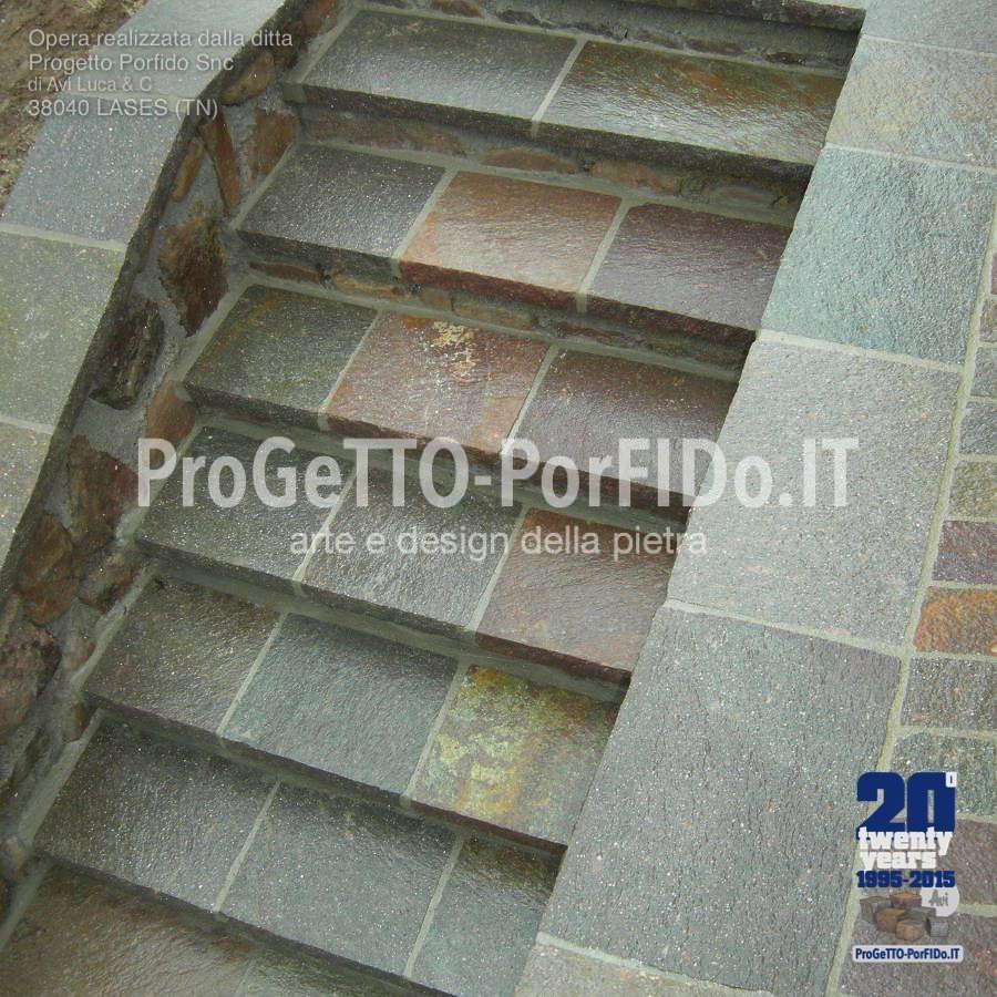 scale di porfido immagini