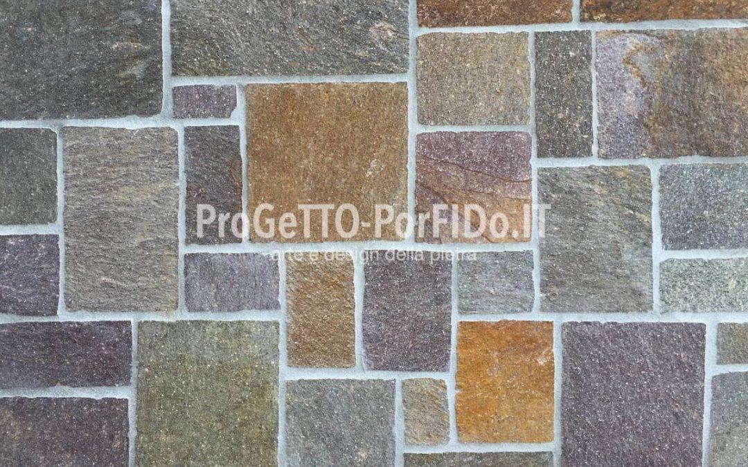 Rivestimento muri con pietre naturali