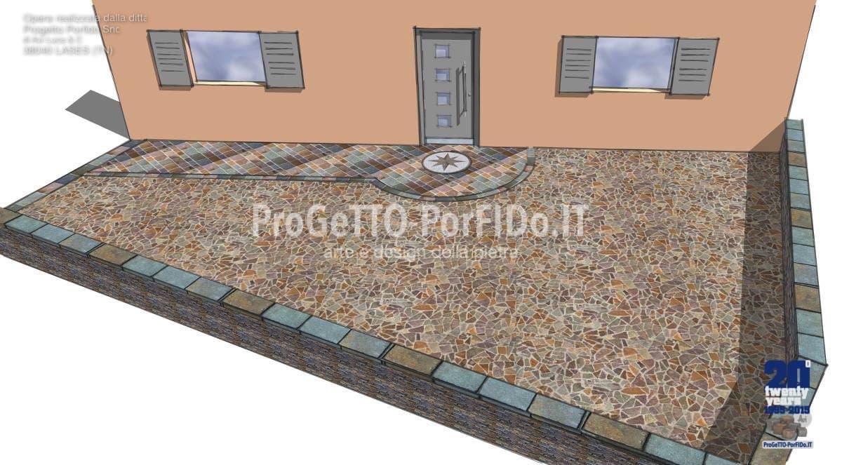 alternativa al pavimento di cubetti