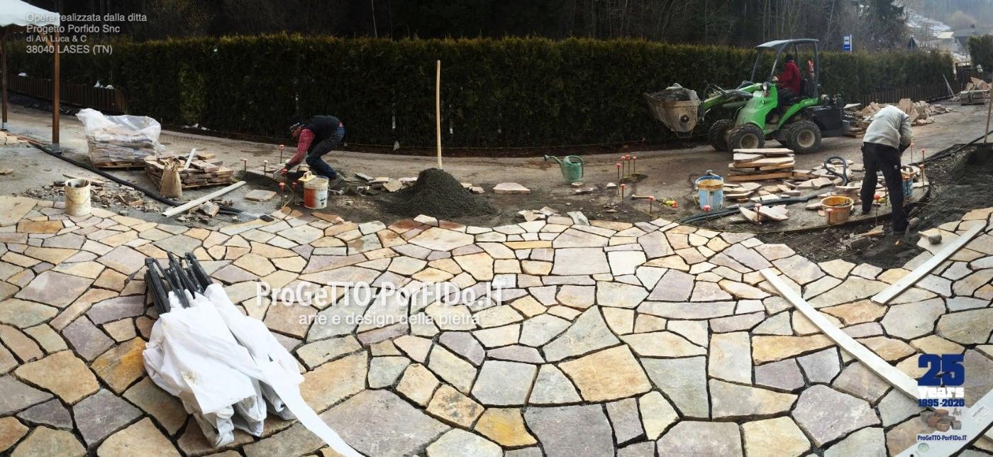 posa mosaico